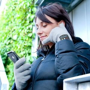 guanti con bluetooth