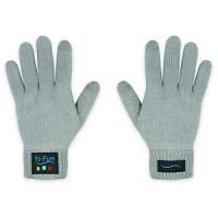 guanti con auricolare bluetooth