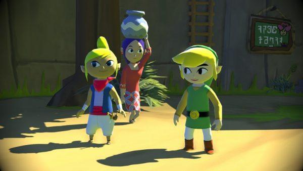 Zelda The Wind Waker torna su Wii U in autunno, immagini e video
