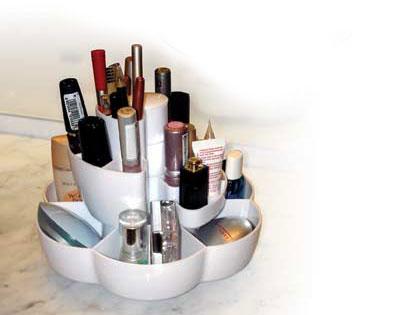 Porta-trucchi per cosmetici sempre in ordine