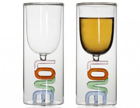 Love Glass Cup, i bicchieri dell'amore