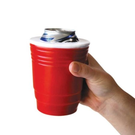 Tazza porta-lattina Red Cup Drink Koozie