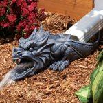 Drago sputa-acqua da giardino