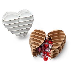 Confezione regalo per San Valentino fai da te