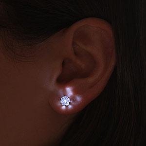 orecchini a led