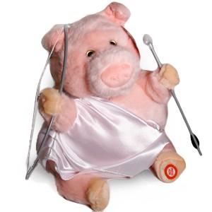 Q-Pig, il maialino dell'amore