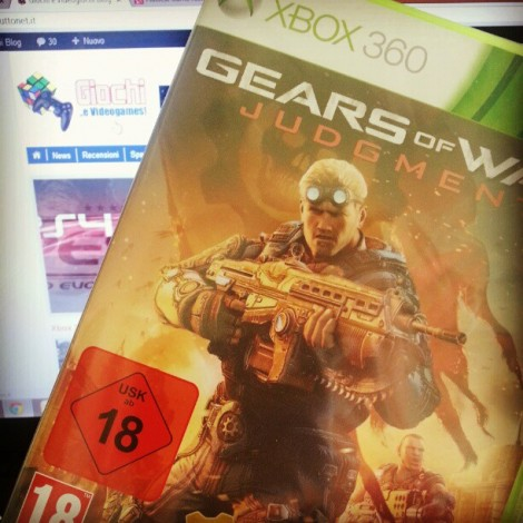 Gears of War Judgment UK non è multilingua