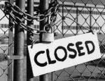 Nel 2013 chiusi 10mila negozi