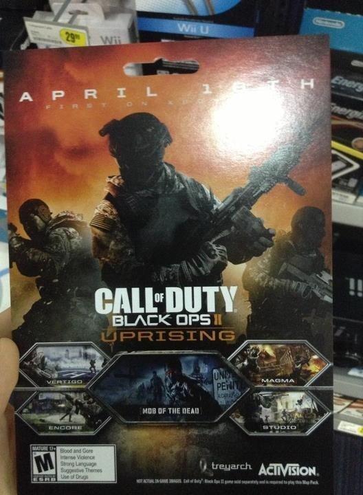 black ops 2 uprising