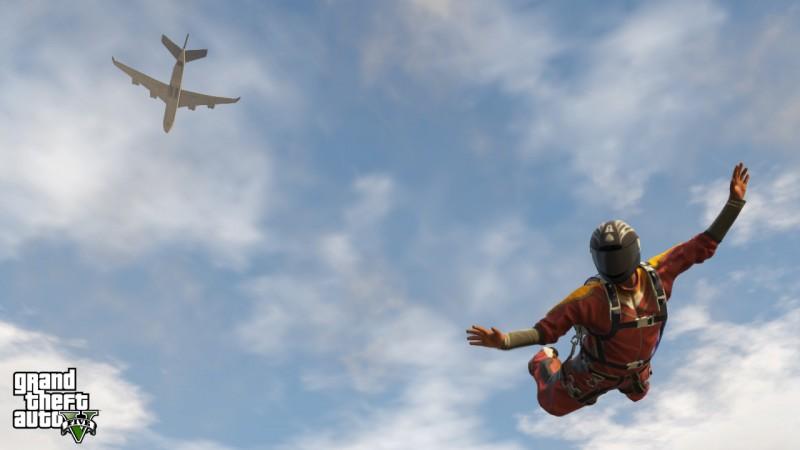 GTA 5 paracadute