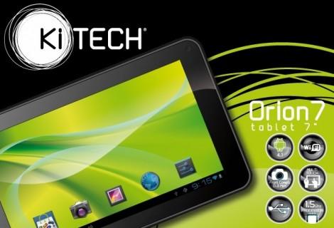 "Tablet 7"" Ki-Tech ORION7, pratico e leggero"