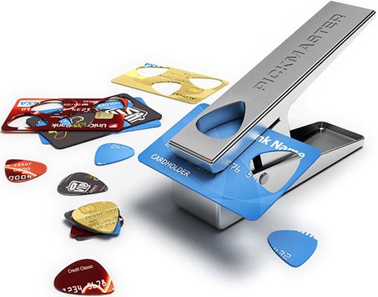 Taglia plettri per appassionati di chitarra