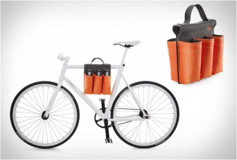 6 Pack Bike Bag, borsa portabibite per bici