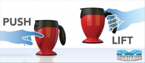 Mighty Mug, la tazza che non cade