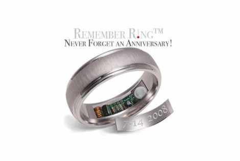 Remember Ring, l'anello per smemorati