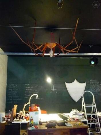lampada spider-lamp