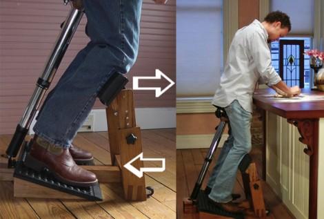 Standing Task Chair, la sedia per stare in piedi