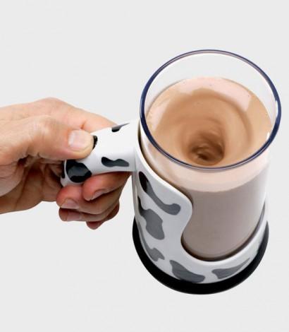 mixer latte al cioccolato