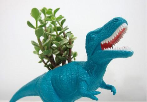 dinosauro vaso