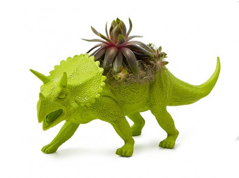 fioriera dinosauro