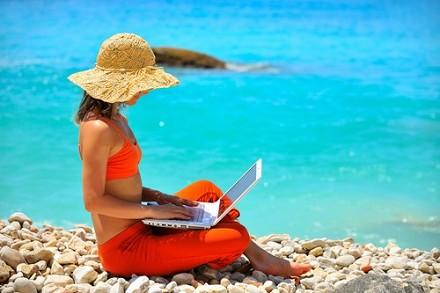 Sempre più in vacanza con Internet