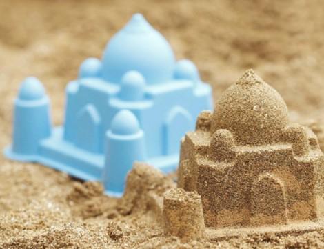 Set di stampi per monumenti di sabbia