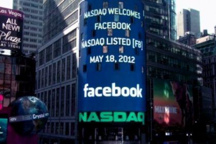 Facebook massimo storico a Wall Street