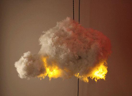 lampada nuvola Richard Clarkson