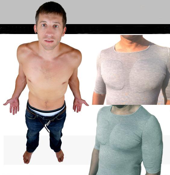 t-shirt muscoli