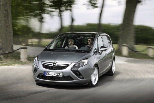 Opel Zafira con motore 1.6 CDTI