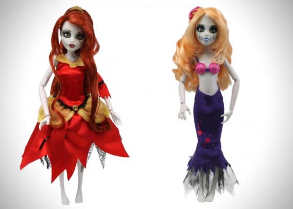 Principesse Disney Zombie
