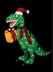 addobbo dinosauro natalizio