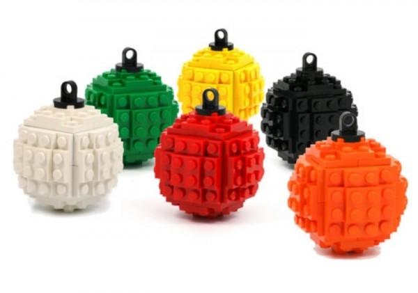 Palline natalizie Lego