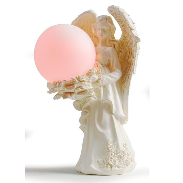 Addobbo natalizio angelo luminoso
