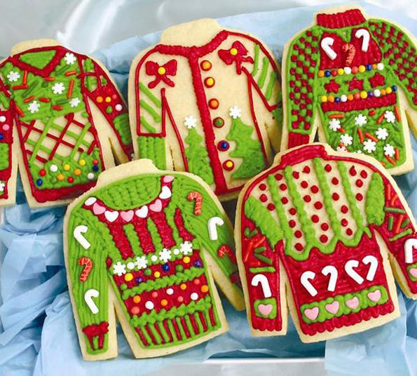 Kit biscotti maglioni natalizi