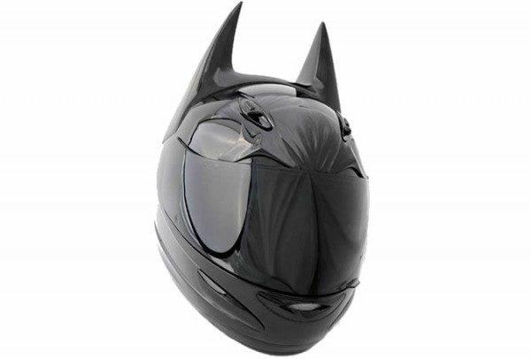 Casco da moto Batman