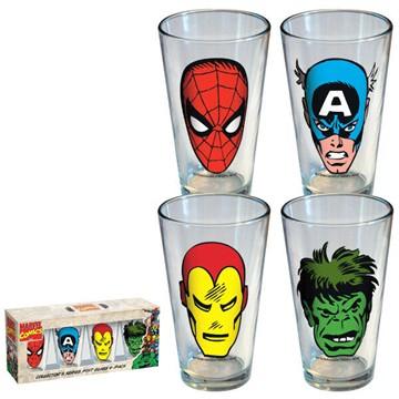 set bicchieri marvel