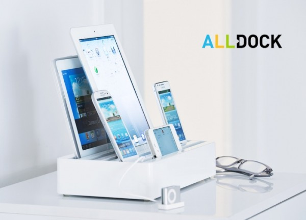 All Dock, caricabatterie universale per più dispositivi