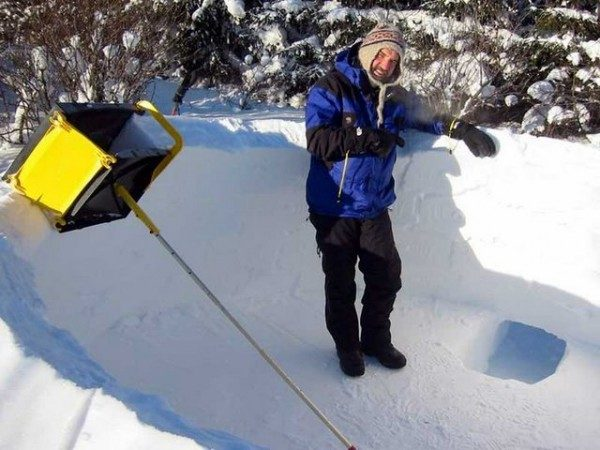 Attrezzo per costruire igloo Icebox Igloo Maker