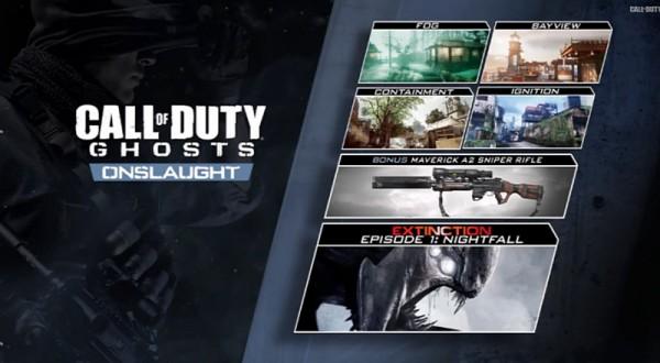 CoD: Ghosts Onslaught per PC e PlayStation, data di uscita
