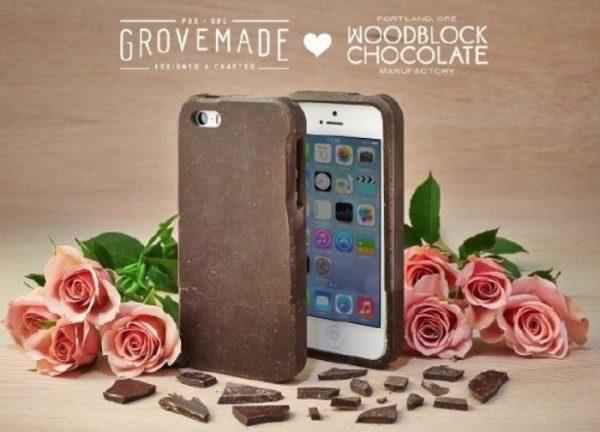 Case per iPhone al cioccolato