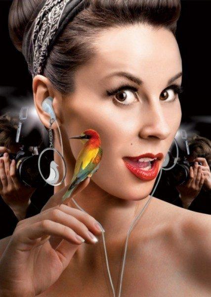 Orecchini-auricolari Earbud Earrings