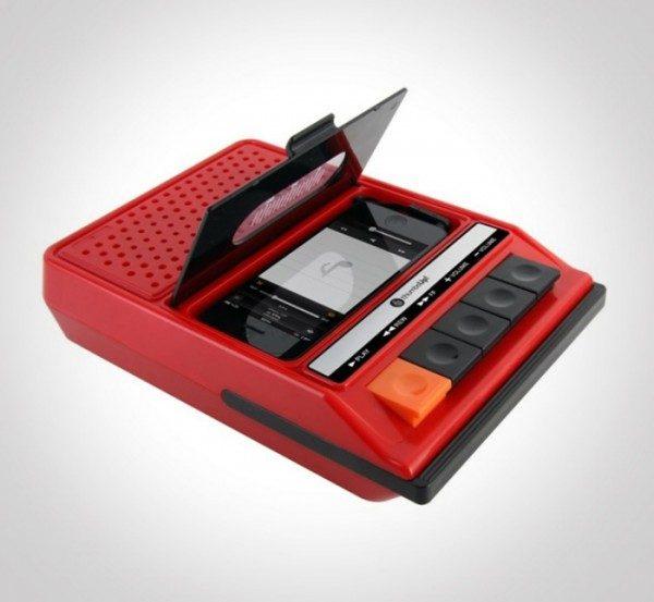 iRecorder Speaker, altoparlante design vintage