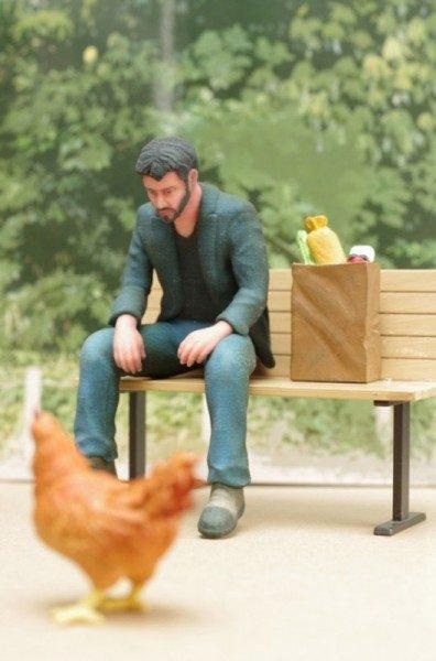Sad Keanu, Keanu Reeves triste in 3D