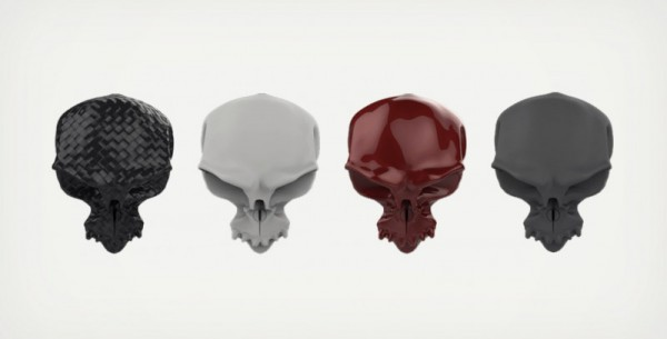 Maniglia a forma di teschio Skull Doorknob