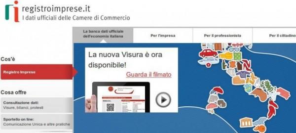 visure online mobile registro imprese