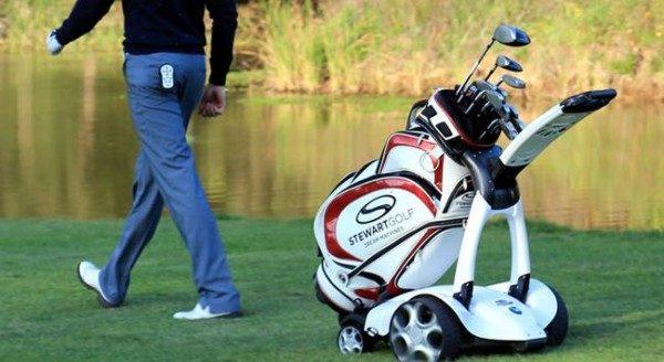 X9, dispositivo elettrico che porta la sacca da golf