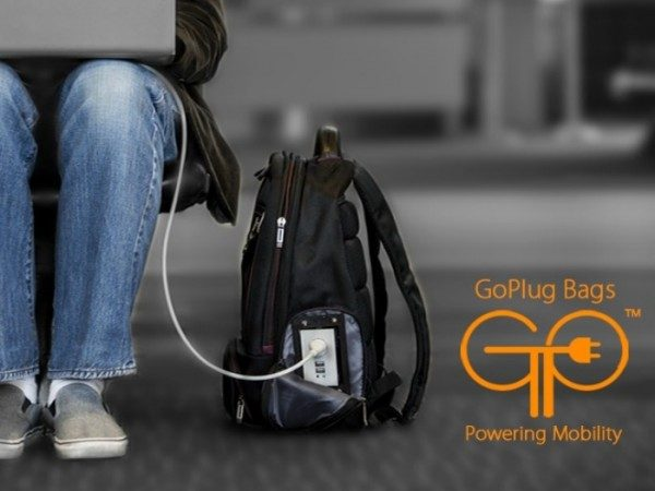 Borsa con batteria integrata GoPlug Bag