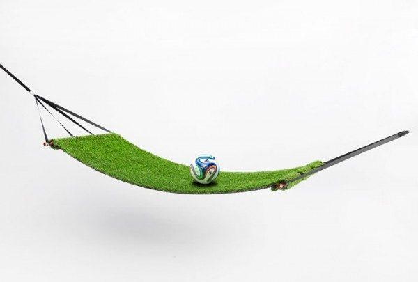 Amaca di finta erba Tear Grass