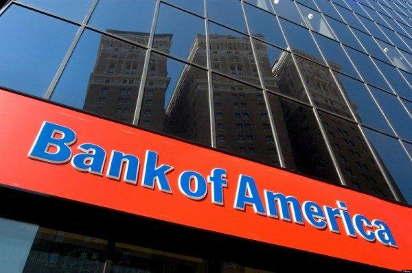 Bank of America utili trimestrali in calo
